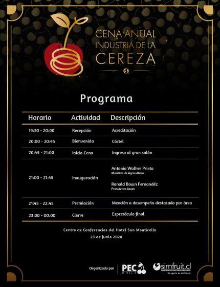 programa cena anual PEC