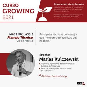 PEC E-Learning GROWING 2021: Masterclass 3 - Poda